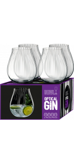 GIN SET OPTICAL - 4 VERRES - REF 5515/67 - RIEDEL