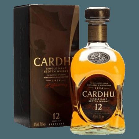 CARDHU SINGLE MALT 12 ANS
