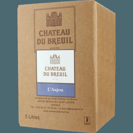 CUBI 5L - ANJOU ROUGE 2019 - CHATEAU DU BREUIL