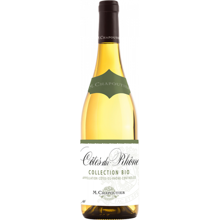 COTES-DU-RHONE BLANC BIO COLLECTION 2019 - MICHEL CHAPOUTIER