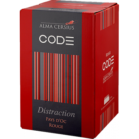 CUBI 3L - ROUGE DISTRACTION - ALMA CERSIUS