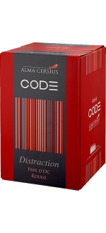 CUBI 3L - ROUGE DISTRACTION - ALMA CERSIUS