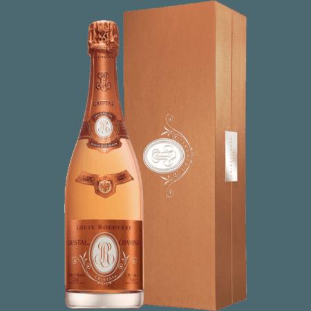 CRISTAL ROSE 2012 - CHAMPAGNE LOUIS ROEDERER - COFFRET PREMIUM