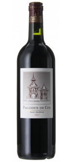 LES PAGODES DE COS 2017 - SECOND VIN DU CHATEAU COS D'ESTOURNEL