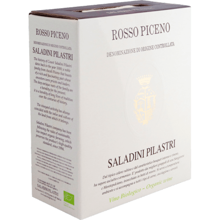 BIB - ROSSO PICENO 2019 - SALADINI PILASTRI