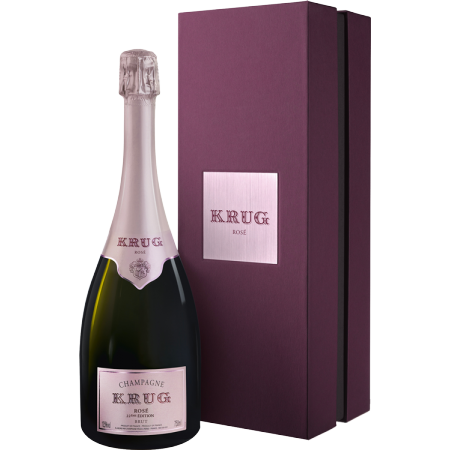 CHAMPAGNE KRUG - KRUG ROSE 24 EME EDITION - COFFRET LUXE
