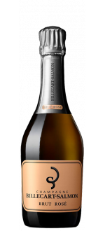 CHAMPAGNE BILLECART SALMON - BRUT ROSE - DEMI BOUTEILLE