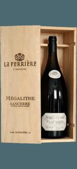 MAGNUM COFFRET BOIS SANCERRE MEGALITHE 2016 - DOMAINE DE LA PERRIÈRE