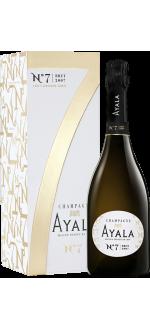 CHAMPAGNE AYALA - N°7 BRUT 2007 - EN COFFRET