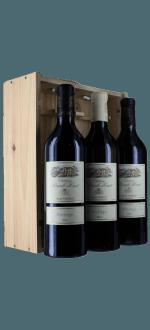 COFFRET BOIS 3 BOUTEILLES PRESTIGE : 2 ROUGE 2018 + 1 BOUTEILLE BLANC 2019 - CHATEAU PUECH HAUT