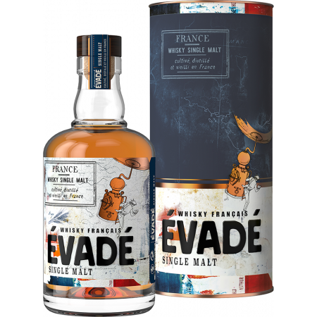 WHISKY FRANCAIS EVADÉ - SINGLE MALT - EN ETUI