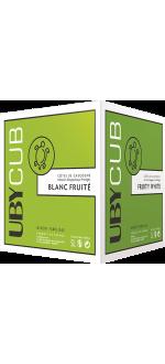 CUBI 5L - UBY CUBE BLANC SEC - DOMAINE UBY