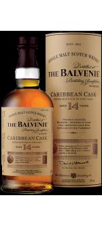 CARRIBEAN CASK 14 ANS - THE BALVENIE - EN ETUI