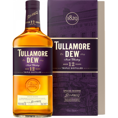 TULLAMORE DEW - SPECIAL RESERVE 12 ANS