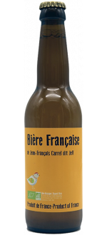 BIERE FRANCAISE 33CL - JEFF CARREL