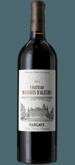 MAGNUM CHATEAU MARQUIS D'ALESME 2016 - 3EME CRU CLASSE