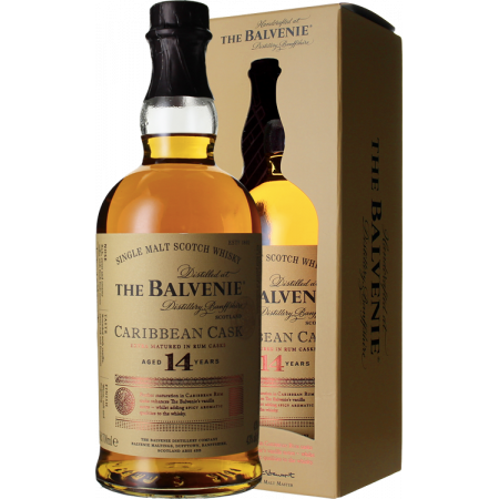 CARRIBEAN CASK 14 ANS - THE BALVENIE - EN ETUI