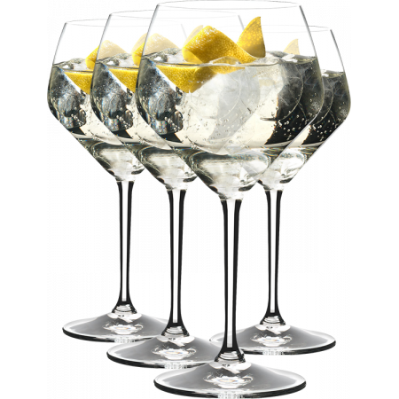 GIN SET TONIC LONG DRINK - 4 VERRES - REF 5441/97 - RIEDEL