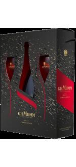 CHAMPAGNE MUMM CORDON ROUGE - COFFRET 2 FLUTES