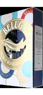 VODKA BELUGA NOBLE + 1 VERRE A COCKTAIL EN COFFRET
