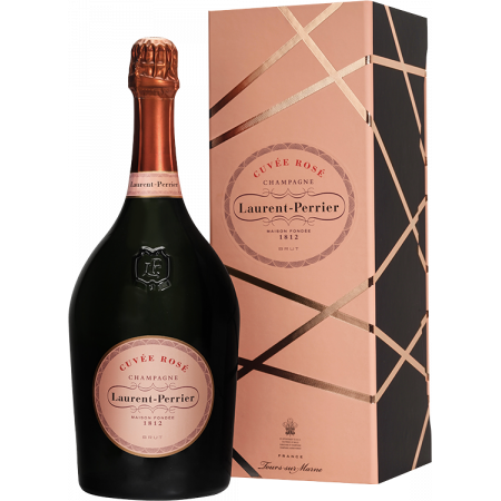 CHAMPAGNE LAURENT-PERRIER - MAGNUM BRUT ROSE - COFFRET