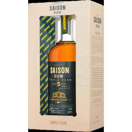 RHUM SAISON TRIPLE CASK - BARBADOS 5 ANS - EN ETUI