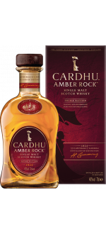 CARDHU AMBER ROCK - EN ETUI