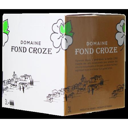CUBI 3L - IGP ROSE 2020 - DOMAINE FOND CROZE
