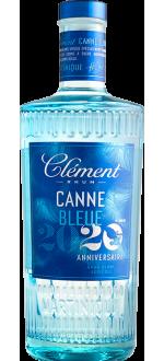 RHUM CLÉMENT - CANNE BLEUE MILLÉSIME 2020