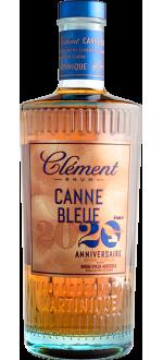 RHUM CLÉMENT - CANNE BLEUE 20EME ANNIVERSAIRE - RHUM VIEUX AGRICOLE