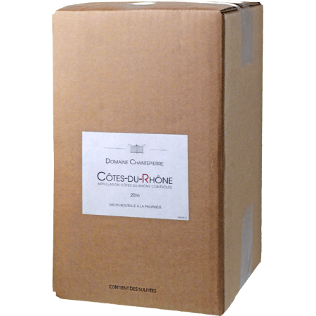 CUBI 5L - COTES DU RHONE 2020 - DOMAINE CHANTEPIERRE