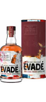 WHISKY FRANCAIS EVADÉ - SINGLE MALT RED WINE CASK FINISH - EN ETUI