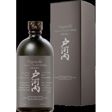 WHISKY TOGOUCHI - SAKE CASK FINISH - EN ETUI
