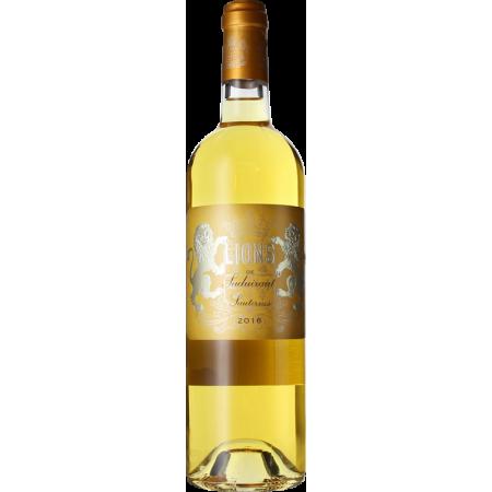 LIONS DE SUDUIRAUT 2016 - SECOND VIN DU CHATEAU SUDUIRAUT