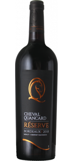 CHEVAL QUANCARD RESERVE ROUGE 2018