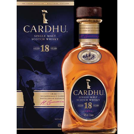 CARDHU 18 ANS SINGLE MALT - EN ETUI