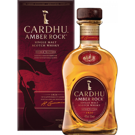 CARDHU AMBER ROCK SINGLE MALT - EN ETUI