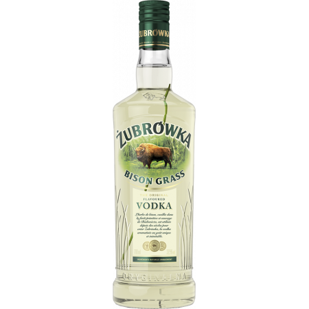 ZUBROWKA VODKA - BISON GRASS