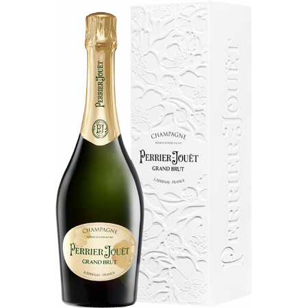 CHAMPAGNE PERRIER JOUËT - GRAND BRUT - EN ETUI ECO-BOX