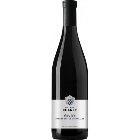 GIVRY 1ER CRU - CHAMP LALOT ROUGE 2018 - DOMAINE CHANZY