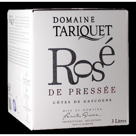 VENTE PRIVEE - BIB 3L ROSE DE PRESSEE 2020 - DOMAINE TARIQUET