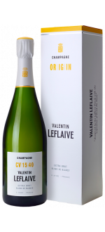CHAMPAGNE VALENTIN LEFLAIVE - EXTRA BRUT BLANC DE BLANCS - CV 17 50