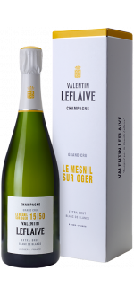 CHAMPAGNE VALENTIN LEFLAIVE - EXTRA BRUT BLANC DE BLANCS - GRAND CRU LE MESNIL SUR OGER 15 50
