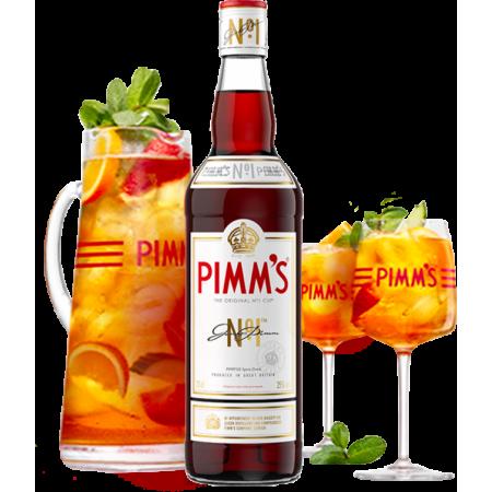 PIMM'S No.1 EN COFFRET - PICHET ET 2 VERRES