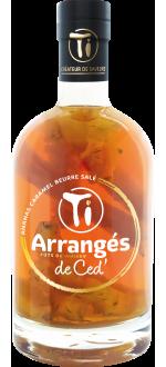 TI ARRANGES DE CED - ANANAS CARAMEL BEURRE SALE (FUTS DE CHENE) - LES RHUMS DE CED