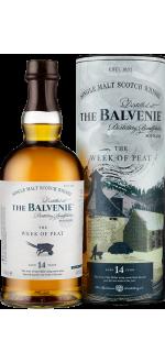 THE BALVENIE - THE WEEK OF PEAT 14 ANS - EN ETUI
