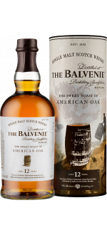THE BALVENIE - SWEET TOAST OF AMERICAN OAK 12 ANS - EN ETUI