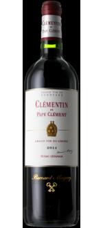 LE CLEMENTIN DE PAPE CLEMENT 2016 - SECOND VIN DU CHATEAU PAPE-CLEMENT