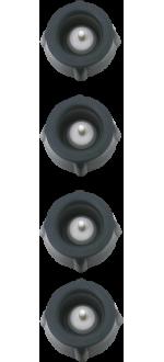 4 BOUCHONS A VINS - EPIVAC - REF 210069 - PEUGEOT