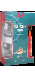 RHUM SAISON SHERRY CASK - COFFRET 2 VERRES